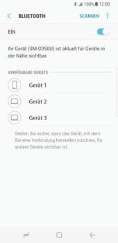 Samsung Galaxy S8 - Bluetooth - Geräte koppeln - Schritt 9