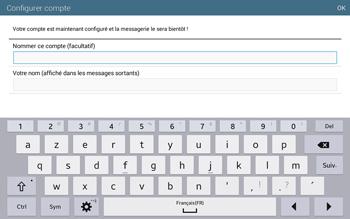 Samsung T535 Galaxy Tab 4 10.1 - E-mail - configuration manuelle - Étape 18