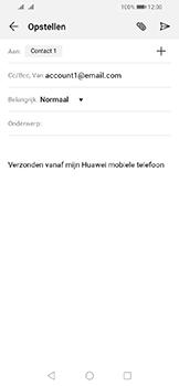 Huawei Y6 (2019) - E-mail - e-mail versturen - Stap 6