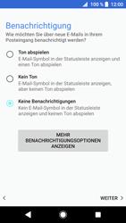 Sony Xperia XZ1 Compact - E-Mail - Konto einrichten - Schritt 21
