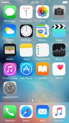 Apple iPhone 5 iOS 9 - Operazioni iniziali - Personalizzazione della schermata iniziale - Fase 8