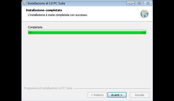LG G3 - Software - Installazione del software di sincronizzazione PC - Fase 9