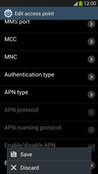 Samsung Galaxy S 4 Active - Internet and data roaming - Manual configuration - Step 16
