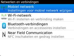BlackBerry 9360 Curve - netwerk en bereik - gebruik in binnen- en buitenland - stap 5