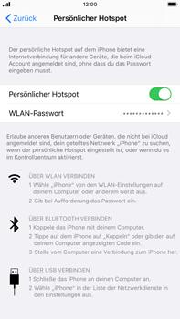 Apple iPhone 6s Plus - iOS 13 - WiFi - So aktivieren Sie einen WLAN-Hotspot - Schritt 9