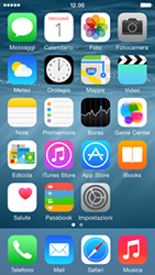 Apple iPhone 5s - iOS 8 - Risoluzione del problema - Touchscreen e pulsanti - Fase 1