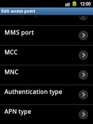 Samsung Galaxy Y - MMS - Manual configuration - Step 13