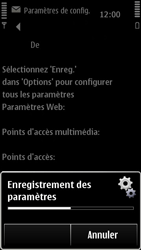 Nokia 500 - Internet - configuration automatique - Étape 8