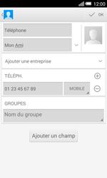 Alcatel OT-5050X Pop S3 - Contact, Appels, SMS/MMS - Ajouter un contact - Étape 10