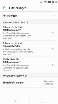 Huawei Mate 9 - Anrufe - Anrufe blockieren - Schritt 6