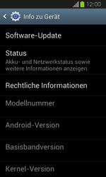 Samsung Galaxy Express - Software - Installieren von Software-Updates - Schritt 6