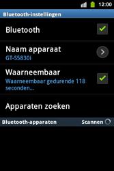 Samsung S5830i Galaxy Ace i - bluetooth - aanzetten - stap 8
