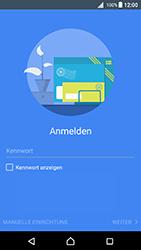 Sony Xperia X - E-Mail - Konto einrichten - 1 / 1