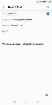 Huawei Mate 10 Lite - E-Mail - E-Mail versenden - 7 / 17