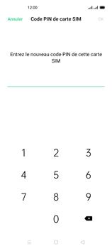 Oppo Reno 4 - Sécuriser votre mobile - Personnaliser le code PIN de votre carte SIM - Étape 10