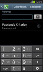 Samsung Galaxy S3 Mini - Anrufe - Anrufe blockieren - 1 / 1