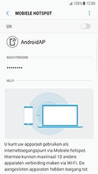 Samsung Galaxy S7 Edge - Android N - WiFi - Mobiele hotspot instellen - Stap 12
