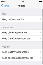 Apple iPhone 4 S - iOS 7 - E-mail - Handmatig instellen - Stap 8