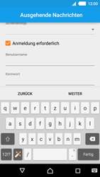 Sony Xperia M4 Aqua - E-Mail - Konto einrichten - 2 / 2