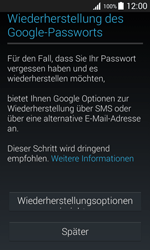 Samsung Galaxy J1 - Apps - Konto anlegen und einrichten - 12 / 19