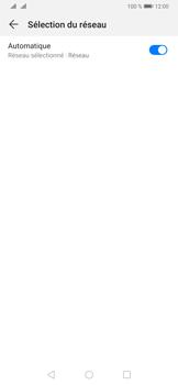 Huawei P30 - Réseau - Sélection manuelle du réseau - Étape 6