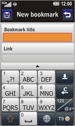 LG GC900 Viewty Smart - Internet - Internet browsing - Step 9