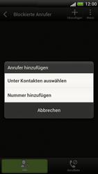 HTC One S - Anrufe - Anrufe blockieren - 6 / 10