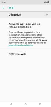 Wiko View 2 Plus - Wifi - configuration manuelle - Étape 5