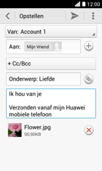 Huawei Ascend Y330 - E-mail - e-mail versturen - Stap 13