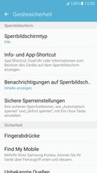 Samsung Galaxy S7 - Datenschutz und Sicherheit - Automatischen Screensaver einschalten - 0 / 0