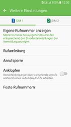 Samsung J510 Galaxy J5 (2016) DualSim - Anrufe - Rufumleitungen setzen und löschen - Schritt 7