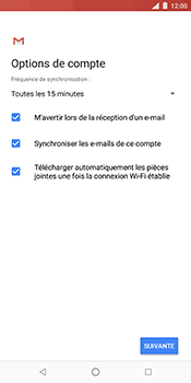 Nokia 7 Plus - E-mail - Configuration manuelle (outlook) - Étape 10