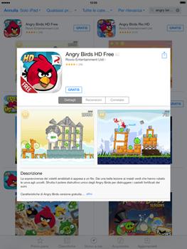 Apple iPad Retina iOS 7 - Applicazioni - Installazione delle applicazioni - Fase 13