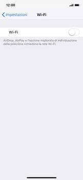 Apple iPhone X - iOS 12 - WiFi - Configurazione WiFi - Fase 4