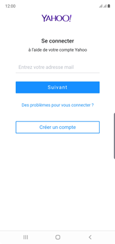 Samsung Galaxy Note10 - E-mail - Configuration manuelle (yahoo) - Étape 10