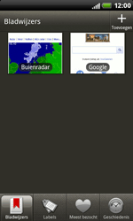 HTC S510b Rhyme - internet - hoe te internetten - stap 10