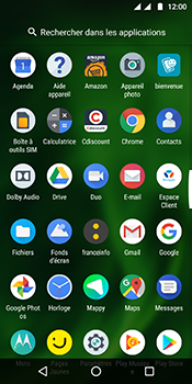 Motorola Moto G6 - Photos, vidéos, musique - Créer une vidéo - Étape 3
