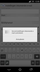 Sony D6603 Xperia Z3 - E-mail - Handmatig instellen - Stap 11
