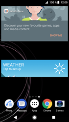 Sony Xperia XZ1 Compact - Getting started - Installing widgets and applications on your start screen - Step 8