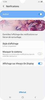 Samsung Galaxy A70 - Sécurité - activéz le code PIN de l'appareil - Étape 11