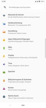 Sony Xperia 10 Plus - WLAN - Manuelle Konfiguration - Schritt 4