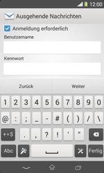 Sony Xperia E1 - E-Mail - Konto einrichten - 0 / 0
