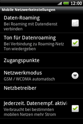 HTC Wildfire S - Ausland - Im Ausland surfen – Datenroaming - 8 / 11