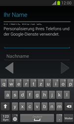 Samsung Galaxy Trend Lite - Apps - Einrichten des App Stores - Schritt 6