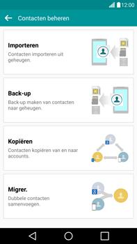 LG G4 - Contacten en data - Contacten kopiëren van SIM naar toestel - Stap 6