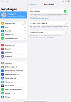 Apple iPad Pro 11 inch 2nd generation (2020) (Model A2230) - Beveiliging en ouderlijk toezicht - Zoek mijn iPad inschakelen - Stap 10