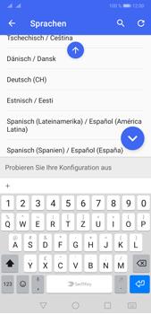 Huawei P20 Pro - Android Pie - Startanleitung - So fügen Sie eine Tastatursprache hinzu - Schritt 11