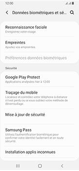 Samsung Galaxy A40 - Appareil - configurer Localiser mon appareil - Étape 5