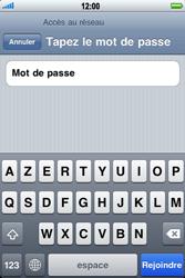 Apple iPhone 3G S - Wifi - configuration manuelle - Étape 5