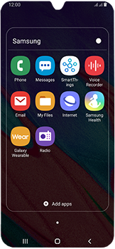 Samsung Galaxy A40 - SMS - Manual configuration - Step 4